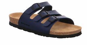 Rohde Alba 5618 Damen Sandale Sandalette Ocean Blau
