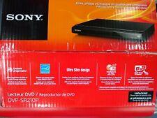 Sony Dvp-Sr210P Dvd Player w/Progressive Scan Multi-Format Media Playback Used