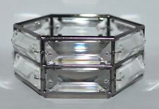 BATH & BODY WORKS CRYSTAL RHINESTONES DIAMOND LARGE 3 WICK CANDLE HOLDER 14.5OZ