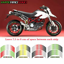 Motorcycle Rim Stripes Wheel Decals Tape Stickers For DUCATI HYPERMOTARD