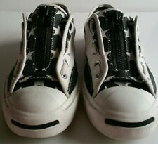 """RARE CONVERSE JACK PURCELL """" I AM THE SOLOIST """" ZIP UP LOW TOPS UK SIZE 7"""