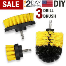 Drill Brush Power Scrubber Brush Set Drill Attachments For Carpet Grout Cleaning