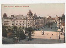 Konstanz Postamt & Marktstaette Germany Vintage Postcard 859a