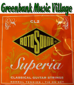 Rotosound Classical Guitar Strings 'Superia' CL2 Normal Tension Tie on Set Nylon