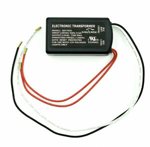 75 W Electronic Transformer For Halogen & Xenon Lamp,Input 120V,Output 12V