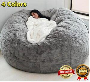 25% Off 7FT Foam Giant BeanBag Memoria Sala de estar Silla Lazy Sofa Soft Covers