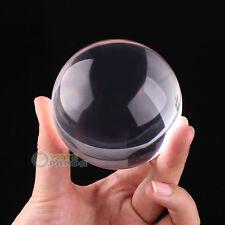 Contact Ball 100% Crystal Ultra Clear Acrylic Ball 70mm Manipulation Juggling
