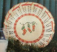 Basket Weaving Pattern Cookies for Santa by Maurine Joy