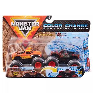 Monster Jam Color Change El Toro Loco vs Northern Nightmare 1:64 2 Pack