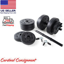 Golds Gym Vinyl 40 lb Adjustable Weight Set - Brand New and Ships TODAY!