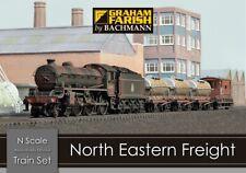Graham Farish 370-090 North Eastern Freight - N Gauge Train Set
