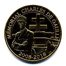 52 COLOMBEY Mémorial Charles de Gaulle, 2008-2018, 2018, Monnaie de Paris