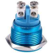 16mm Flush Mounted Momentary SPST Stainless Steel Push Button Switch HY