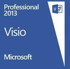 Visio 2013 Professional MS Pro Original Product Key Full Version-1pc
