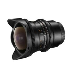 walimex pro 12/3,1 Fish-Eye VDSLR Nikon F Objektiv für die Videografie