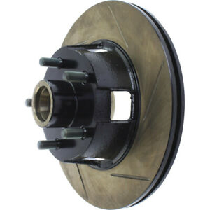 Disc Brake Rotor-High Performance Slotted Centric 126.61053SL