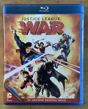 Dc Animated Justice League War Blu Ray
