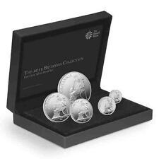 Ex-Display: 2013 UK GB Silver Britannia 5 x Coin Proof Set with Box & COA