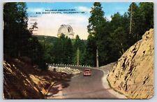 Palomar Mountain Observatory San Diego County, California Linen Postcard
