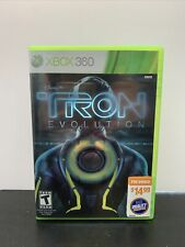 Tron: Evolution (Microsoft Xbox 360, 2010) Complete w/Manual