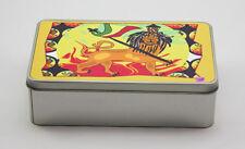 Lion of Judah Rectangular Metal Tin