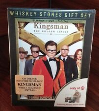 Kingsman Golden Circle Target Exclusive(Bluray/DVD+UV)Whisky Stones Giftset-NEW