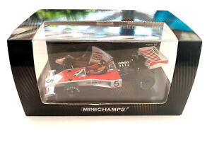 MCLAREN FORD M23 EMERSON FITTIPALDI F1 WORLD CHAMPION 1974 WITH ENGINE 1:43 NEW