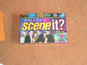 FRIENDS SCENE-IT BY MATTEL - SPARE PARTS - PLAYING BOARD ONLY VERY GOOD CONDITIO