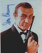 Sean Connery HAND Signed 8x10 Photo, Autograph, James Bond, Goldfinger, 007