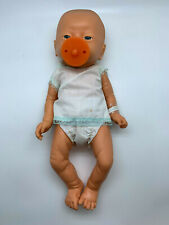 VTG Jesmar Male Anatomically Correct Newborn Doll Hospital Gown & Wristband Baby