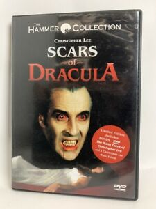 Scars of Dracula rare US 2 disc Hammer Collection DVD British horror Anchor Bay