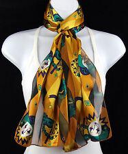 Mardi Gras Harlequin Women's Scarf New Orleans Masks Masquerade Gift Scarves