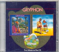 GRYPHON Red Queen To Gryphon Three / Raindance CD 2 in 1