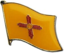 Wholesale Pack of 50 State of New Mexico Flag Bike Hat Cap lapel Pin
