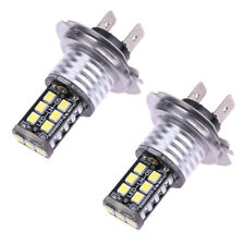 H7 15SMD Car Light Lamp Bulb CREE LED Xenon Fog Driving DRL CANBUS Error Free