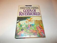 Gods Of Riverworld by Philip Jose Farmer HC used SFBC edition used Library book