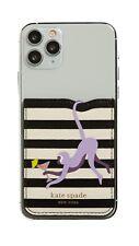Kate Spade New York Stripe Jungle Party Sticker Pocket NWT