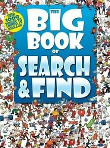 Big Book Of: Search and Find Paperback Book The Cheap Fast Free Post