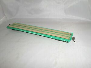 Intermountain HO Great Northern GN 60' Plain Flat Wood Dek Glacier Green #161080