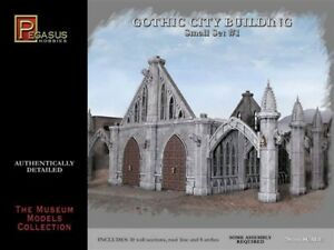Pegasus HOBBIES 4924 Gothic City Building Small Set 28mm scale Plastic Model Kit