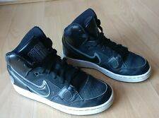 NIKE SON OF FORCE MID (GS) BLACK GREY TRAINERS SHOES SIZE UK 3 EU 35.5 615158