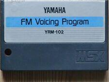 RARE Vintage Yamaha FM VOICING PROGRAM YRM-102 cartridge ONLY For CX5M & MSX