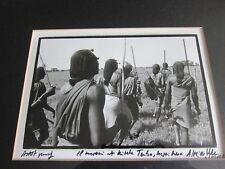 Alexis de Vilar il Morani à kitchwa Tembo Masai Mara, Kenya Artist Proof Print
