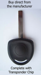 VAUXHALL CORSA C 2004 - 2006 COMPATIBLE SPARE KEY with virgin ID40 Chip.