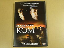 DVD / MASSAKER IN ROM ( MARCELLO MASTROIANNI, RICHARD BURTON )