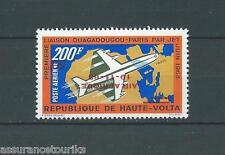 HAUTE VOLTA - PA surchargé inversement - 1963 YT 10 - TIMBRE NEUF* charnière