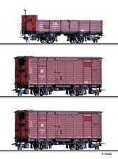 Tillig 15971 H0m Güterwagenset DR EP III NEUHEIT 2016 OVP/