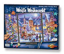 Schipper 609260730 - Malen Nach Zahlen - Weiße Weihnacht (Triptychon) - Neu