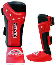 Shin instep foot pads MMA Training Muay thai shin guards - Junior