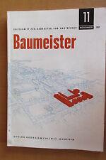 Baumeister TH München Aachen Uni Helsinki Grundrisse Bilder Gasbeton Profile